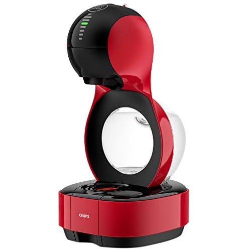 Nescafé Dolce Gusto Krups Lumio Automatic Coffee Machine, Red