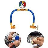 Wadoy R134A tubo di ricarica per auto AC aria condizionata refrigerante ricarica tubo con misuratore di