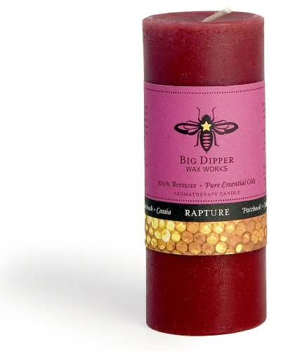 Big Dipper Wax Works, Candle Aromatherapy Pillar Rapture