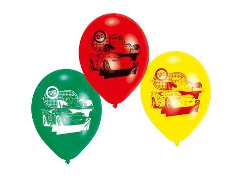 Riethmüller - 450229 - Décoration de Fête - 6 Ballons Latex Cars