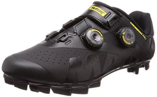 MAVIC Crossmax Pro Chaussures de vélo VTT Noir/jaune 2018 Taille 41