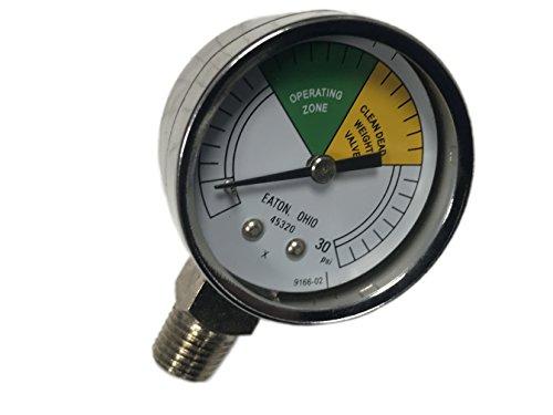 16910Henny Penny freidora Medidor de presión 500561600680partes hp16910partes