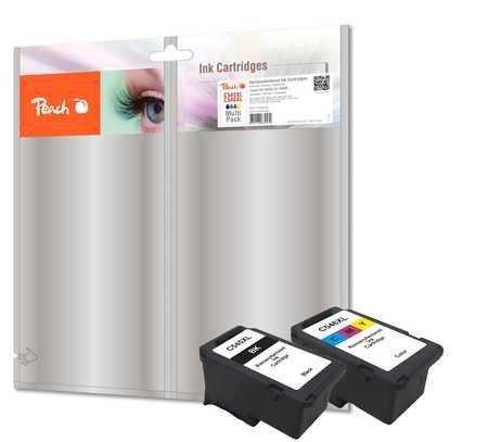 Peach Spar Pack Druckköpfe kompatibel zu Canon PG-545XL/CL-546XL