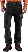 Carhartt Men's Ripstop Cargo Work Pant, Black, 34W X 32L