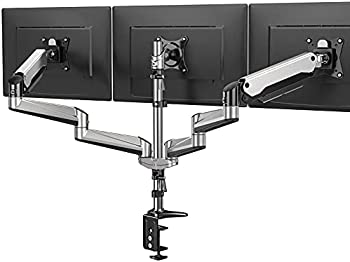 Huanuo Full Motion Articulating Triple Monitor Stand (Up to 32