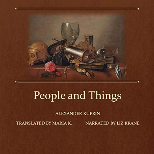 People and Things audiobook cover art