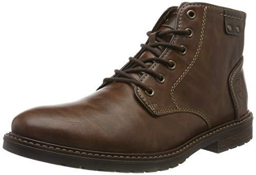 Rieker Herren F5344 Klassische Stiefel, Braun (Wood/Toffee 24), 43 EU