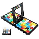 YUNTENG Magic Block Game Face to Face Race Board Game Board Game Magic Cube Game Toys for Children and Adults