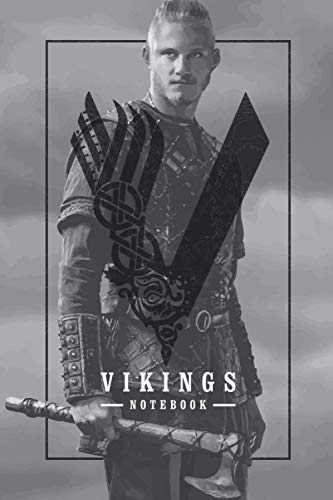 Bjorn Ironside From Vikings TV Show Themed College Ruled Notebook Journal: Gift To Your Dearest Bjorn Lover (6