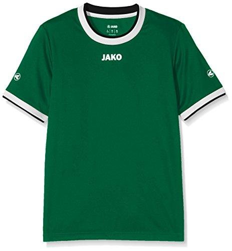 JAKO Kinder Fußballtrikots KA Trikot United, Grün/Weiß/Schwarz, 152