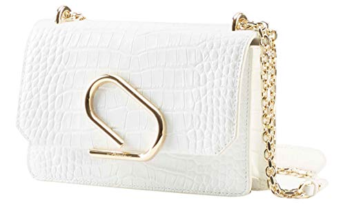 3.1 Phillip Lim Alix Soft Chain Embossed Croc Clutch