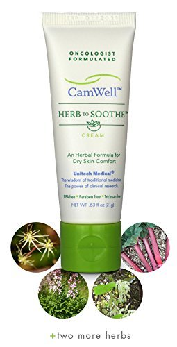 Radiation Cream Burn Skin Relief CamWell Herb to Soothe Oncologist formulated Soothing Care (Pack of 1)