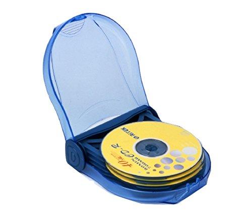ProfiOffice CD- Tasche MT-12 Case/Etui Aufbewahrung bis zu 12 CDs/DVDs blau (07021)