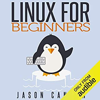 Linux for Beginners audiobook cover art