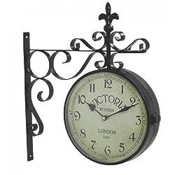 Upper Deck Vintage Victoria Station Railway Station Clock London - Reproduction