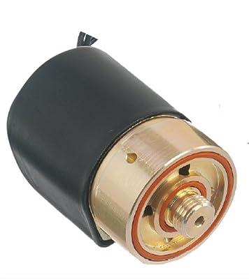 "Gems Sensors D2019-C111 430F Stainless Steel General Purpose High Flow Solenoid Valve, 10 psig Pressure, 0.88 Cv, 3/8"" Orifice, 120 VAC Voltage, 60 Hz from Gems Sensors & Controls"