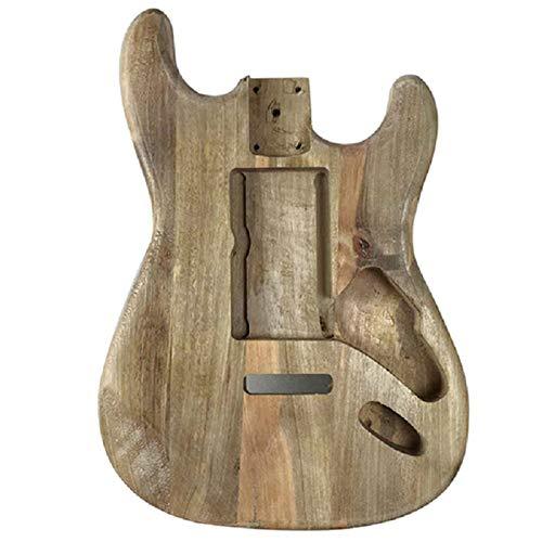 Gaoominy Trä typ elgitarr tillbehör St elgitarr tunna material lönn gitarr tunna kropp lönn gitarr kropp lönn gitarr tunna kropp