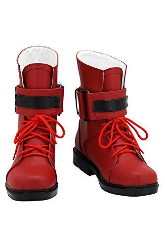 Final Fantasy VII Remake Tifa Lockhart Stiefel Schuhe Boots Shoes Spiel Kostüm Frauen Cosplay Halloween für Frauen