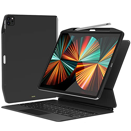 SwitchEasy CoverBuddy [2021 Upgrade] Magnetic Case for 2021-2018 iPad Pro 11 Inch & 2020 iPad Air...