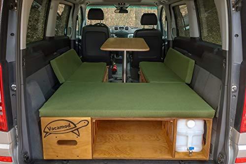 Campingbox Heckküche Schlafsystem Campingküche Bettfunktion VW Van Bus tipo 124