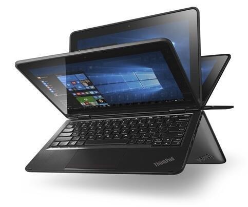 Lenovo ThinkPad Yoga 11e Notebook 11.6' Touchscreen Intel Core i3-6100U 2.3GHz 8GB DDR3L 256GB SSD Win 10 Pro