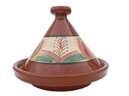 Marokkanische Tajine zum Kochen Ø 35 cm für 3-5 Personen - 905118-000916