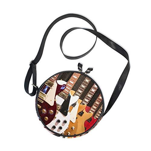 Ahomy - Bolso bandolera para mujer, diseño de guitarras eléctricas