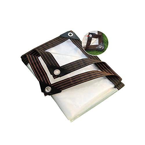 GGYMEI Lonas Impermeables Exterior, Lona Transparente Ojal Reforzado Plegable E Impermeable Tabletas...