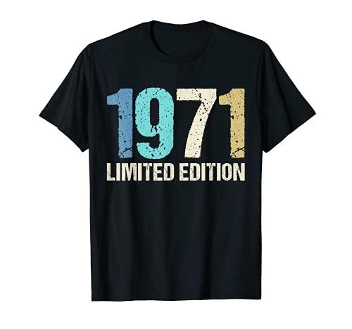 49 Años Cumpleaños Hombre Mujer Regalo Divertido 1971 Camiseta