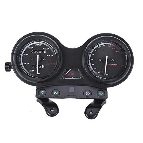 Velocímetro de motocicleta 12000RPM LCD odómetro velocímetro motocicleta DC 12V apto para YBR 125