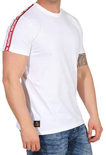 Alpha Industries RBF Tape T-Shirt Weiß XXL
