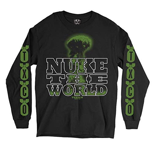 Toxico Clothing - Nuke The World Longsleeve Tee XL/Black