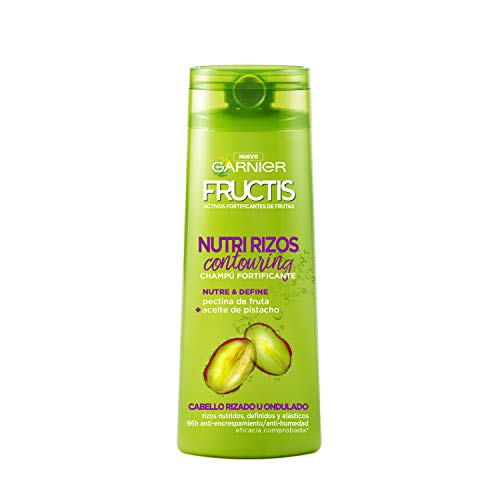 Garnier Fructis Nutri Rizos Contouring Champú Pelo Rizado u Ondulado - 360 ml