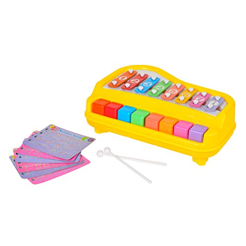 BAOLI 8 Keys Toddler Toy Happy Xylophone Piano Attached 6...
