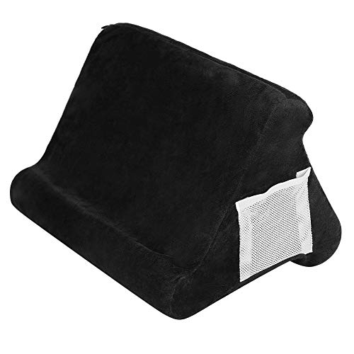 Peyan Tablet Cushion Stand, Multi-Angle Soft Pillow Lap Stand, Tablet Stand Pillow Holder for iPads, Tablets, eReaders, Smartphones, Books, Magazines
