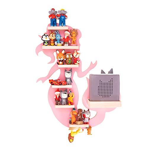 BOARTI Meerjungfrau Kinder Regal small in Rosa - geeignet für die Toniebox und ca. 23 Tonies - zum Spielen und Sammeln