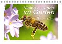 Kleine Freunde im Garten (Tischkalender 2022 DIN A5 quer): Eine liebevolle Sammlung unserer kleinen Gartenbewohner. (Monatskalender, 14 Seiten )