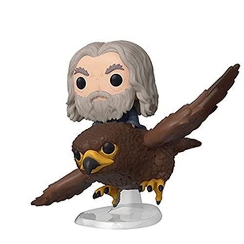 The Lord of The Rings Pop Figure Gandalf on Gwaihir Chibi Vinly PVC Decor Decorations