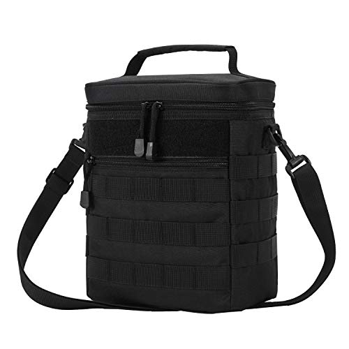 Tactical Lunch Bag Military Molle Lunch Box Picnic Beach Leak Proof Lunch Kit Tote Bag