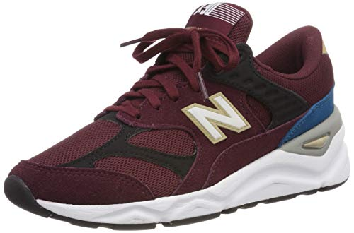New Balance X-90, Damenschuhe, Rot (Nb Burgundy/Black Pd), 39 EU (6 UK)