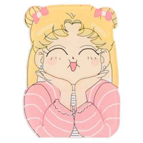 Haushele OFD Sailor Moon Girls Charakter Symbol Harajuku Acryl Abzeichen Rucksack Pins DIY Kleidung Aufkleber Cartoon Anime Brosche Mädchen Geschenke( H09)