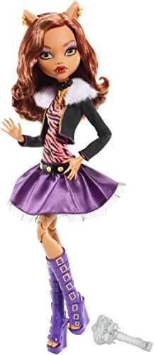 Monster High Frightfully Tall Ghouls Clawdeen Wolf Doll