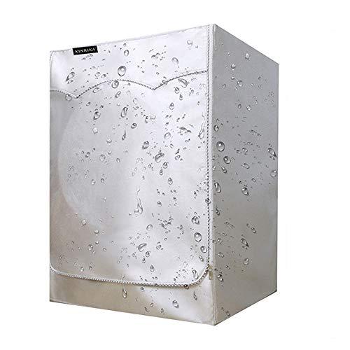Abdeckung für Waschmaschinen ,waschmaschinenbezug, Waschmaschine Staubschutz, wasserdichte Abdeckung für Waschmaschine Frontlader Trockner (60 X55-64X 85 Cm)einstellbare Größe 420D Oxford-Gewebe