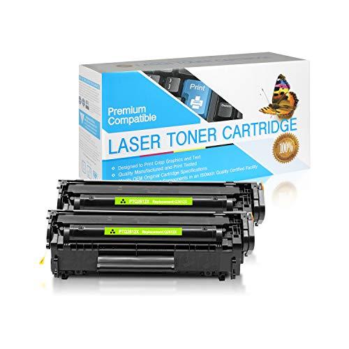 SuppliesOutlet Compatible Toner Cartridge Replacement for HP 12X / Q2612X (Black,2 Pack)