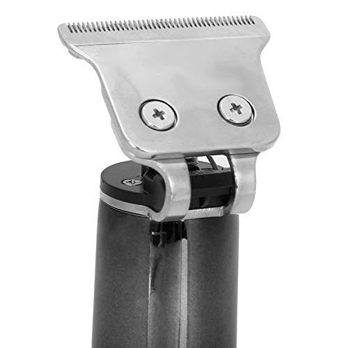 Pwshymi Kits eléctricos de Cuidado del Cabello Cortador de Cabello Cortapelos eléctricos Recargables para Uso en peluquerías para el hogar(Black)