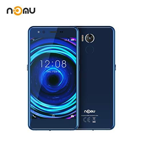 Moviles Resistentes, IP68 Impermeable Smartphone Libres Nomu M8 IP68/IP 69K, Telefono Movil Antigolpes Libres 4GB RAM + 64GB ROM, 21.0MP+21.0MP+Dual Color Flash (Azul)