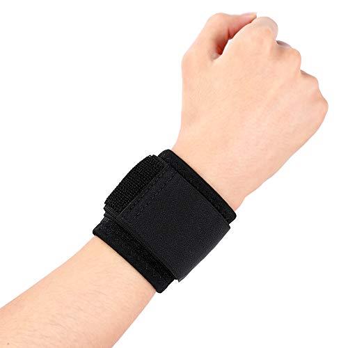 Handgelenkbandage, Kompressions-Handgelenkbandage, mit Elastischen Klettverschluss-Bändern, Atmungsaktives, für Arthritis, Sehnenscheidenentzündung, Handgelenk-Fraktur, Verstauchung, Schmerzlinderung