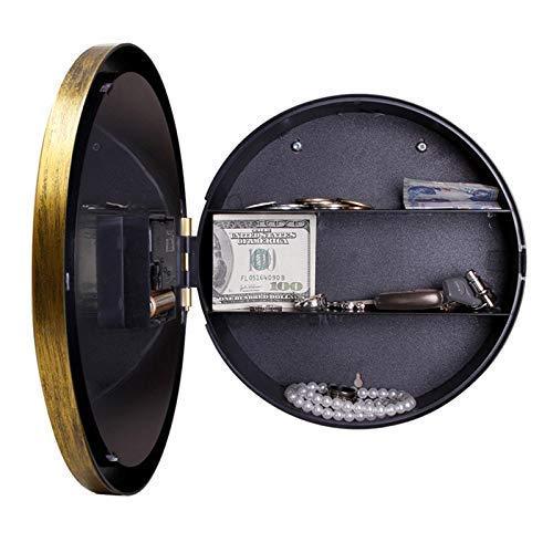 Caja fuerte digital Reloj de pared Caja fuerte Reloj de oficina...