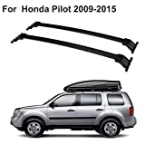 ALAVENTE Roof Rack Cross Bars Luggage Cargo Carrier Compatible for Honda Pilot 2009 2010 2011 2012 2013 2014 2015, Top Side Rail Needed (Pair, Black)