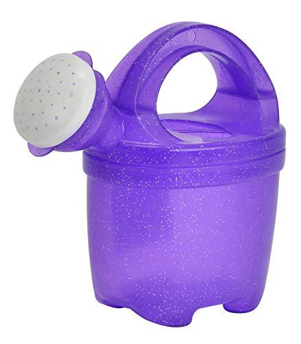 Simba 107101668 - Kleine Gießkanne, Gießer, mit Glitter, Glitzer, 16cm, Sandkastenspielzeug, Sandspielzeug, ab 10 Monaten